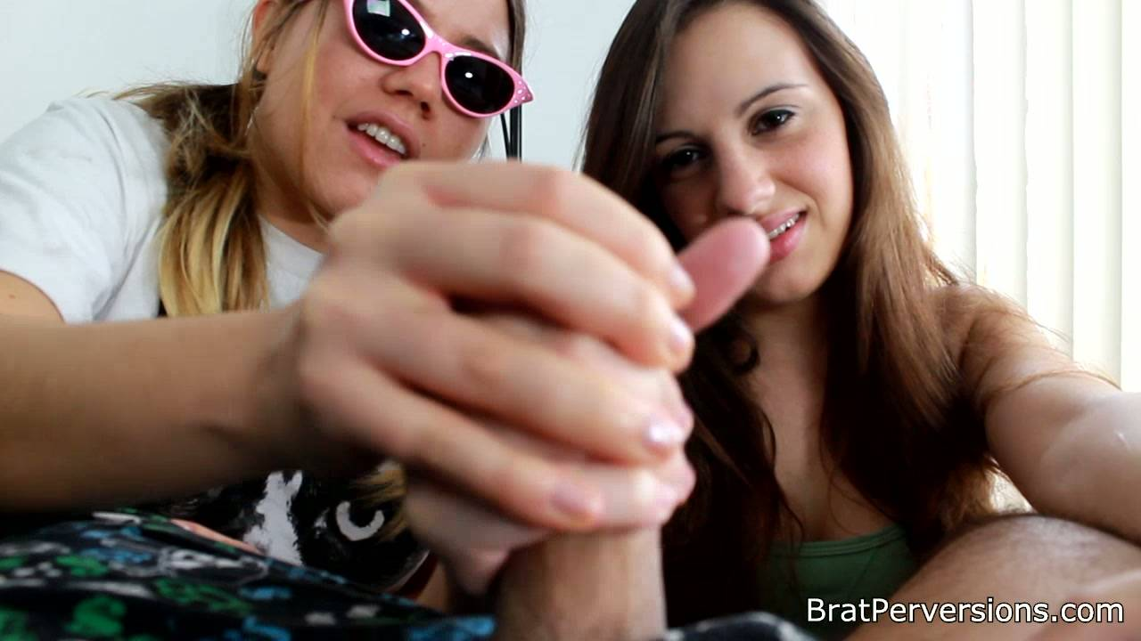 Brats Spank and Wank