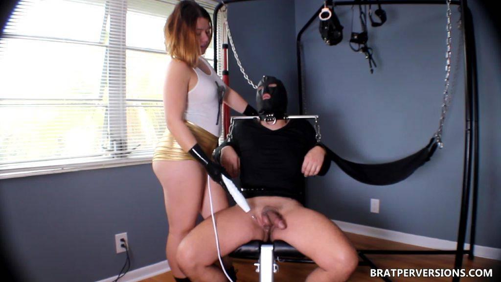 BDSM Electro Controlled Orgasm