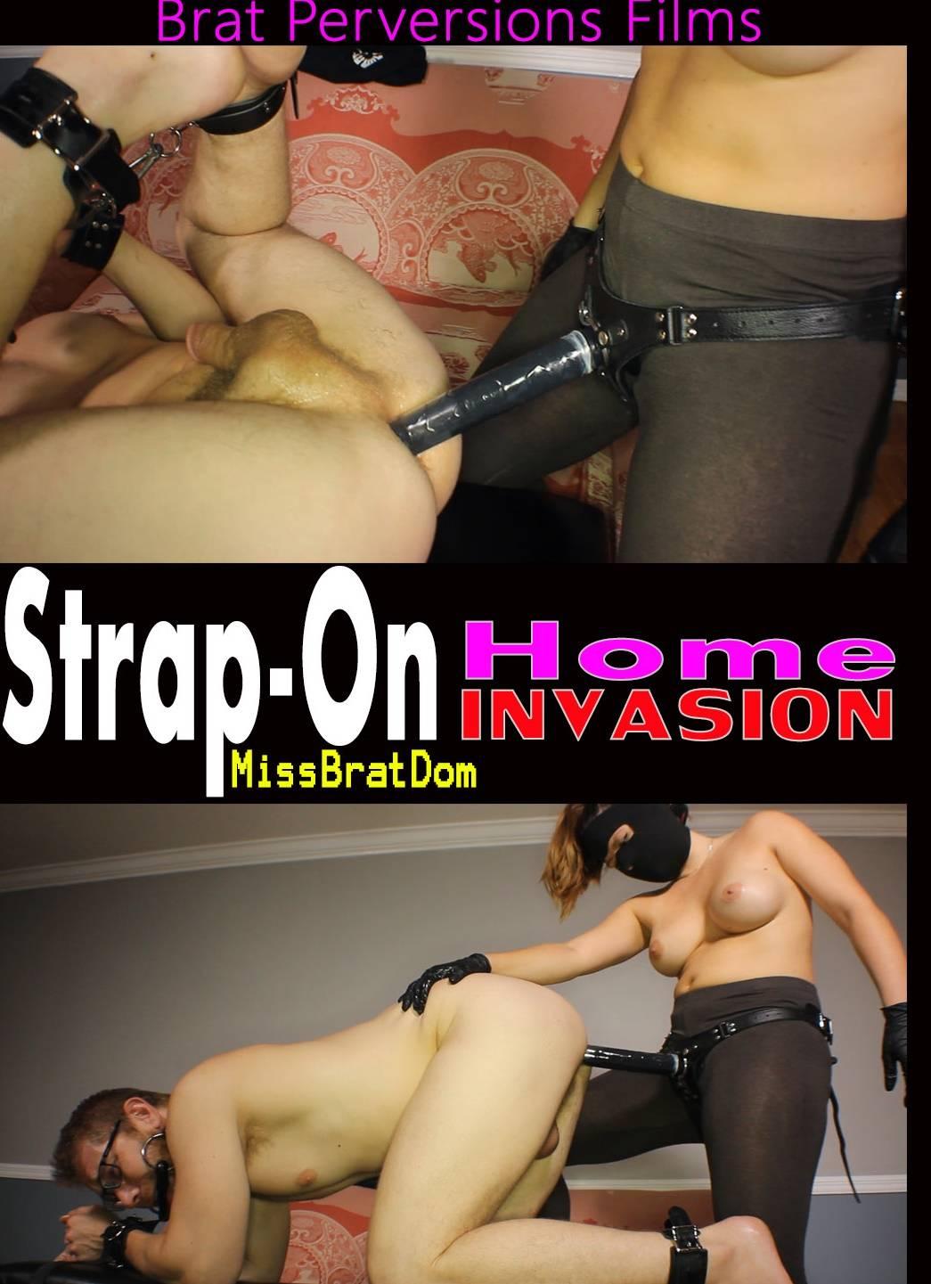 Strapon Home Invasion