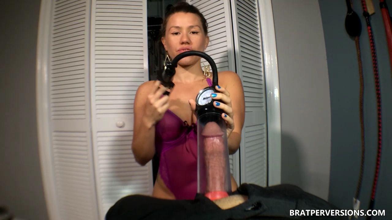 Penis Pump Orgasm Control