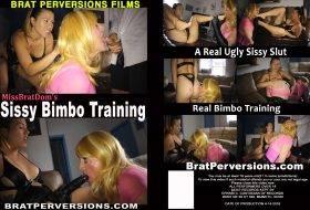 Missbratdom's Sissy Bimbo Training