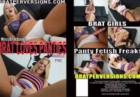 Brat Loves Panties Anabelle Pync