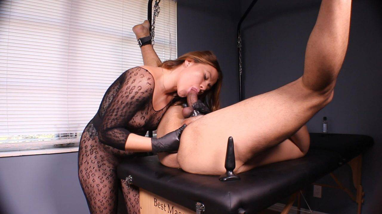 Prostate Massage Sessions: Bound Bitch