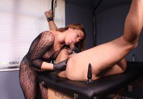 Prostate Massage Sessions: Bound Bitch
