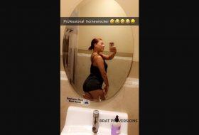 Public Bathroom Snapchats