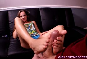 Cheating Wife Footjob