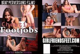 Cheating Footjobs