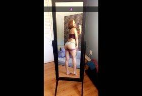 Private Snapchat: Hot Pants and Round Ass