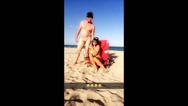 nude beach snapchat