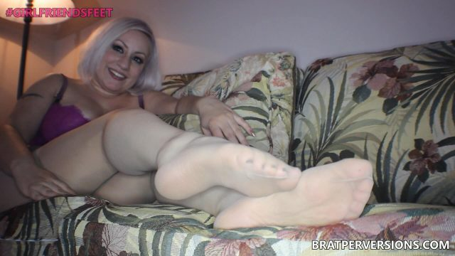 milf pantyhose casting couch