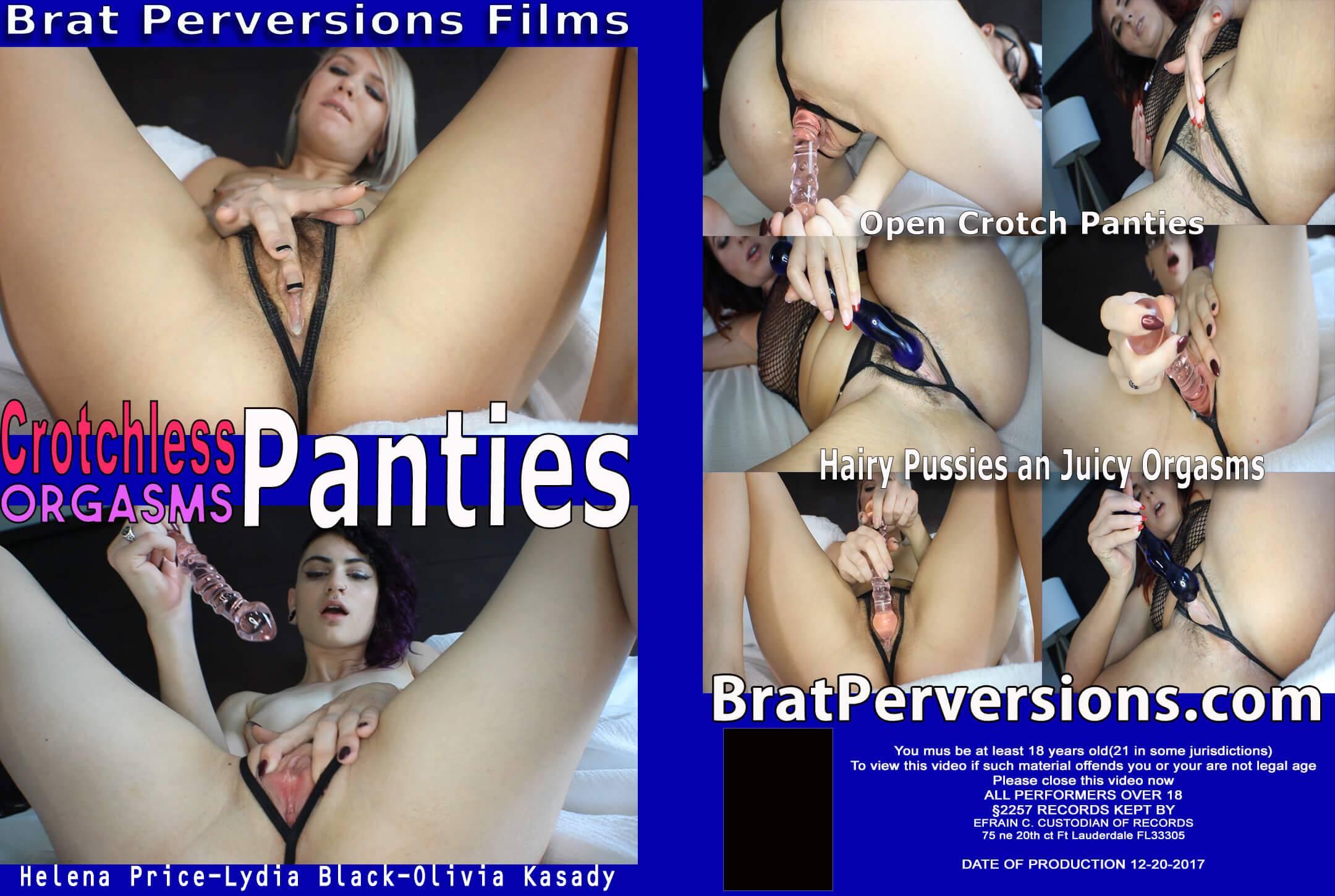 crotchless panties