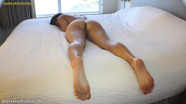 bare feet soles