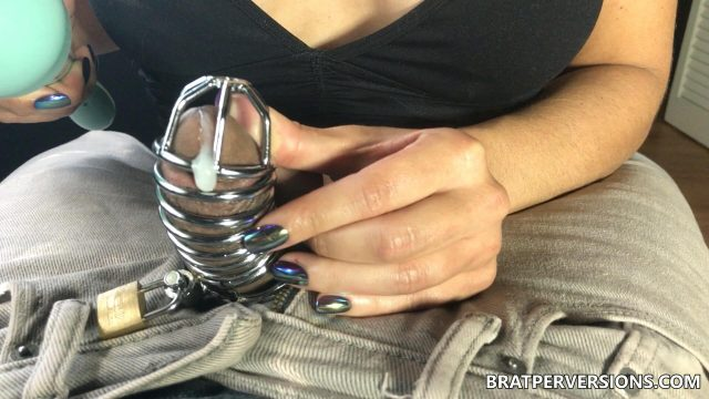 ruined orgasm in chastity