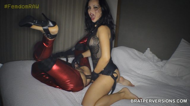 russian femdom pegging experience