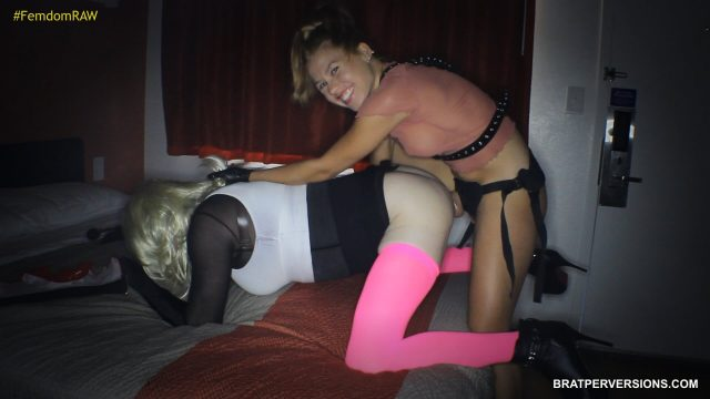 sissy strap-on sex