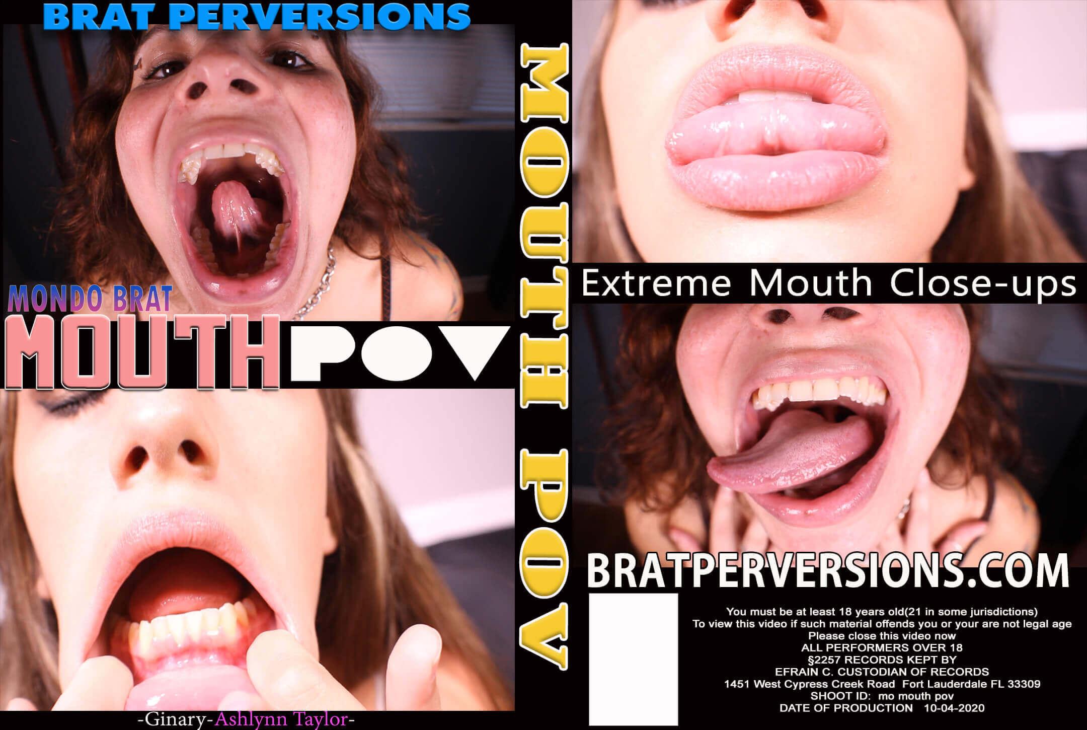 mouth fetish close-up