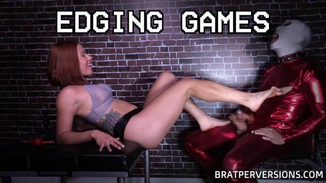 femdom edging play