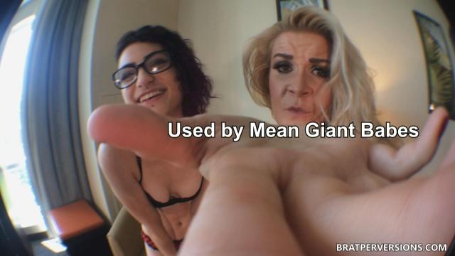 giantess pov